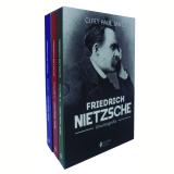 Box - Friedrich Nietzsche - Uma Biografia (3 Volumes) - Curt Paul Janz