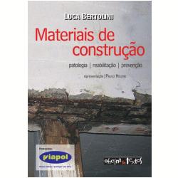 Livros - Materiais De Construção - Luca Bertolini - 9788579750106
