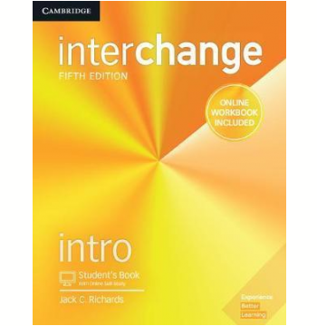 Interchange Intro SB With Online Self-Study And Online Wb - 5TH ED