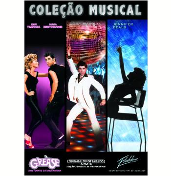 Coleção Musical - Grease + Os Embalos de Sábado à Noite + Flashdance  (DVD)