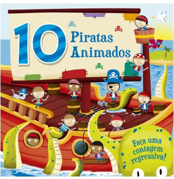 10 Piratas Animados - Faça Uma Contagem Regressiva!