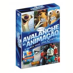 DVD - Box Avalanche de Animação - Desenho - 7898512976431