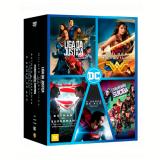Coleção - DC Comics - 5 Filmes (DVD) - Robin Wright, Ben Affleck