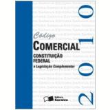 Código Comercial e Constituição Federal (Mini) (2010) - Editora Saraiva
