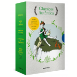 Box - Clássicos Autêntica - Vol. 2 (5 Vols.) - Jonathan Swift, Robert Louis Stevenson, Mark Twain ...