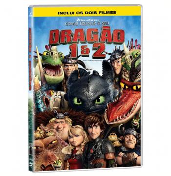 Como Treinar Seu Dragão 1 + 2 (DVD) (DVD)