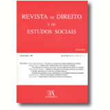 Revista De Direito E De Estudos Sociais, Janeiro-junho - 2007, Ano Xlviii, Nºs 1-2 - Pedro Romano Martinez, Bernardo Da Gama Lobo Xavier