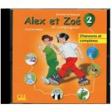 Alex Et Zoe 2 (a1.2) - Cd Audio Individuel - Colette Samson