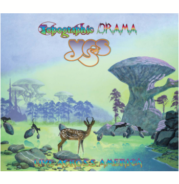 Yes - Topographic Drama Live Across America – Digifile (CD)