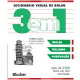 Dicion�rio Visual de Bolso - 3 em 1 - Ingl�s/ Italiano/ Portugu�s - Dorling Kindersley Book