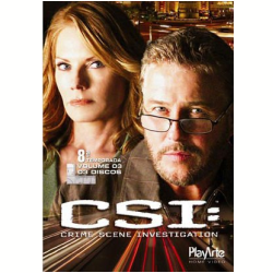 DVD - CSI - 8ª Temporada - Volume 3 - Anthony E. Zuiker ( Diretor ) - 7898023245552