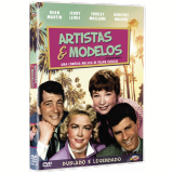 Artistas e Modelos (DVD) - Shirley Maclaine, Dean Martin, Jerry Lewis