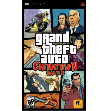 GTA - Grand Theft Auto: Chinatown Wars (PSP)