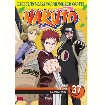 Naruto Vol. 37 (DVD)