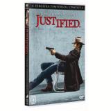 Justified - 3ª Temporada Completa (DVD) - Vários (veja lista completa)