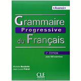 Grammaire Progressive Du Français Avance - Livre + CD Audio - 2 Edition - Michele Boulares