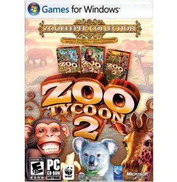 Zoo Tycoon 2: Coleção do Tratador (Jogo Original + 2 Expansões) (PC)