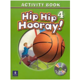 Hip Hip Hooray Activity Book 4 With Audio Cd - Barbara Hojel