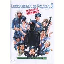 DVD - Loucademia de Policia 3 - De Volta ao Treinamento - Vários ( veja lista completa ) - 7892110050944