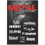 Metal Festival (DVD) - Vários (veja lista completa)
