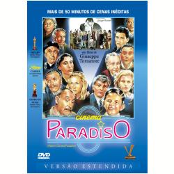 DVD - Cinema Paradiso - Versão Estendida - Giuseppe Tornatore ( Diretor ) - 7895233142305