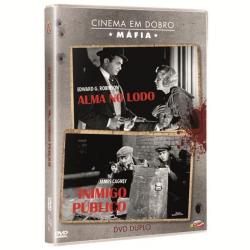 DVD - Cinema em Dobro - Cinema em Dobro - Máfia - James Cagney - 7898366216851