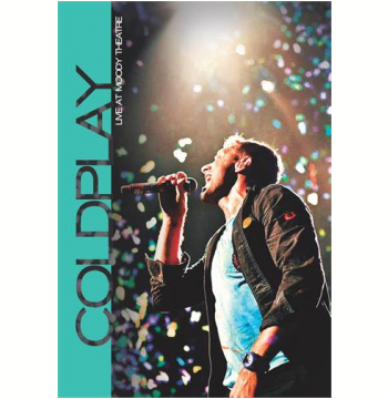 Coldplay Live At Moody Theatre (DVD)