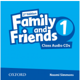 Family And Friends 1 Teacher's Book Class Cd (audio Cd) - Second Edition -