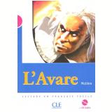 Avare, L´ (Niveau 3) Livre + CD - Moliere