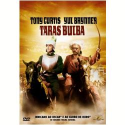 DVD - Taras Bulba - Sam Wanamaker, Tony Curtis, Yul Brynner - 7898366215359