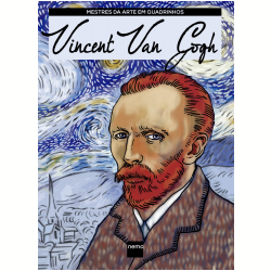 Livros - Mestres da Arte em Quadrinhos - Vincent Van Gogh - Mirella Spinelli - 9788582861783