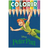 Disney Colorir Medio - Peter Pan - Jefferson Ferreira