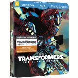 Transformers - O Último Cavaleiro (Steelbook) (Blu-Ray) - Anthony Hopkins, Josh Duhamel