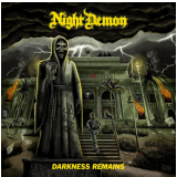 Night Demon - Darknesss Remains - Digipack (CD) - Night Demon