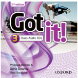 Got It! 3 Class (2 CDs) - Second Edition (CD) -