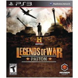 History Legends Of War: Patton (PS3) -