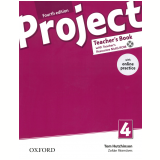 Project 4 Teacher's Book With Online Practice Pack - Fourth Edition -