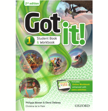 Got It! 1 - Student Book -Second Edition