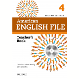 American English File 4 Teacher's Book With Testing Program Cdrom - Second Edition -