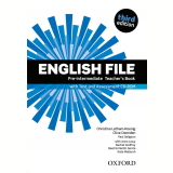 English File Pre-Intermediate Teacher'S Book With Test & Ass Cdrom Cd Included - Third Edition -