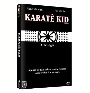 Karate Kid A Triologia (DVD)