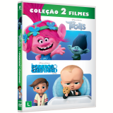 Trolls + O Poderoso Chefinho (DVD) - Tom Mcgrath (Diretor), Mike Mitchell (Diretor)
