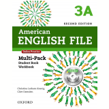 American English File 3a Multi-pack With Online Practice And Ichecker - Second Edition -