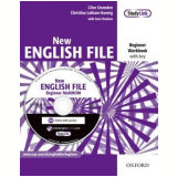 New English File Beginner - Workbook With Booklet Answer And Multirom - Clive Oxenden, Christina Latham-koenig