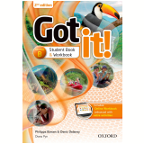 Got It! Starter B - Student Book - Workbook With Multirom - Second Edition -