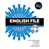 English File Pre-Intermediate - Workbook With Key Ichecker Cd Included - Third Edition -