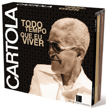 Cartola - Todo o Tempo Que Eu Viver 1967 - 1976 (Box 3 CDs) (CD)