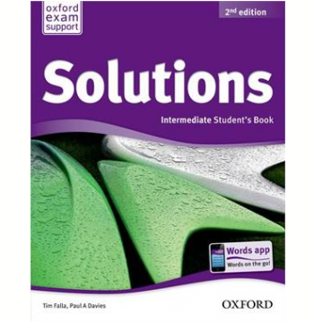 Solutions Intermediate Student Book - Second Edition