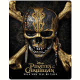Piratas do Caribe - Steelbook (3D Blu-Ray + Blu-Ray) - Johnny Depp, Javier Bardem