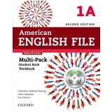 American English File 1A Multi-Pack With Online Practice And Ichecker - Second Edition -